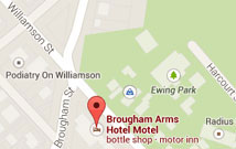 The Brougham Arms Map